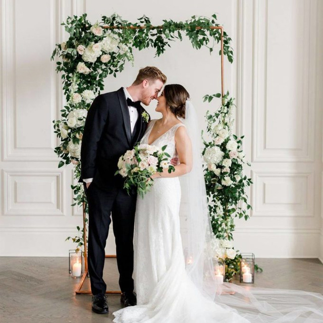 R Love Floral Dallas Wedding Florist Flower Arch